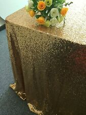 On Sale!120cmx180cm(48x72-Inch)Gold Sequin TableCloth For Wedding/Event/Banquet
