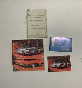 1962 Pontiac Factory GM Original Owners Manual