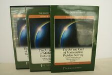 Great Courses - DVDs & Book - The Art And Craft Of Mathematical Problem Solving