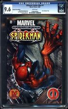 Ultimate Spider-Man #1 CGC 9.6 2000 Rare Dynamic Forces Edition! NM+! G12 704 cm