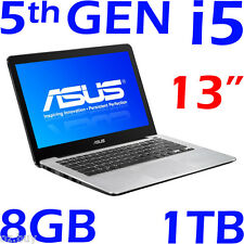"NEW ASUS 5th-GEN CORE i5 5200U 13.3"" 8GB 1TB Win 10 F302LA /X302LA"