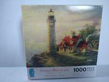 Thomas Kinkade The Sweetheart Cottage Thomashire Village 1000 Jigsaw Puzzle 12