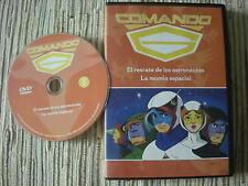 DVD SERIE ANIME COMANDO G LA BATALLA DE LOS PLANETAS GATCHAMAN Nº 1 USADO