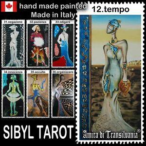sibyl tarot card cards deck rare vintage major arcana tell fortune oracle book