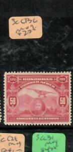 HONDURAS  (P2407B)  A/M  SC C13C    MOG