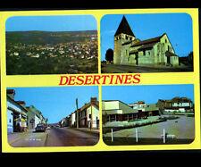 DESERTINES (03) BUREAU de TABAC , ECOLE , VILLAS & EGLISE