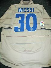 Authentic Messi Barcelona Jersey DEBUT 2004 - 2005 Shirt Camiseta Maglia XL