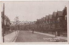 Chatsworth Gardens Acton, London 1911 RP Postcard B756