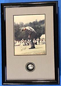 ARMOLD PALMER 1988 SIGNED 8x10 COA & SIGNED GOLF BALL PGA TOUR 1-OWNER