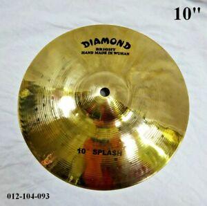 "DIAMOND 10"" Bright Splash Cymbal - Hand Made In Wuhan 012-104-093"