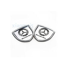 2x Car Sticker Emblem Badge Auto Decal Decoration Logo For Mercedes-Benz C E GL