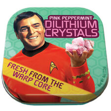 Classic Star Trek Dilithium Crystals Mints in Illustrated Tin Box NEW SEALED