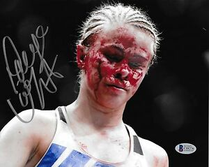 Paige VanZant Signed 8x10 Photo BAS Beckett COA UFC Fight Night 80 Picture Auto