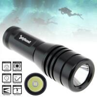 SecurityIng 570Lm XM-L2(U4) LED IP68 Underwater 150M Scuba Diving Flashlight
