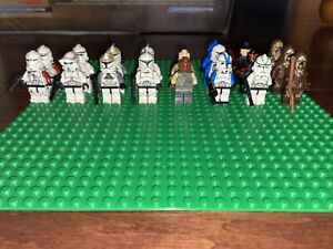 lego star wars lot of minifigures