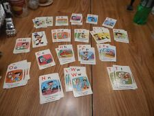 Vintage Card Game Disney Alphabet Not Complete