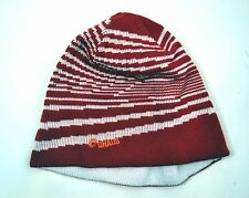NWOT Chaos Womens Teen Red White Knit Hat Beanie O/S Free Shipping