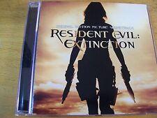 RESIDENT EVIL : EXTINCTION O.S.T.  CD MINT- CHARLIE CLOUSER CHIMAIRA NIGHTWISH
