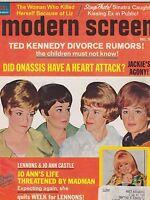 DEC 1969 --- MODERN SCREEN vintage movie collectors magazine - LENNON SISTERS
