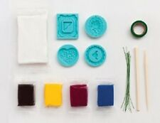Martha Stewart CRAFTERS AIR DRY CLAY Heirloom Starter Kit 43-00002 FRAMES Heart