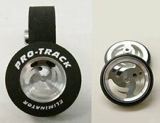 "Pro Track ""Ninja"" 1 3/16"" x .500 Matching Rear & Front 1/24 Drag Slot Car Tires"