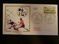FRANCE PREMIER JOUR FDC YVERT 2209  COUPE DU MONDE DE FOOTBALL 1,80F  PARIS 1982