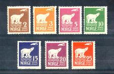 1925 - LOTTO/NORV107CPL - NORVEGIA - SPEDIZIONE DI AMUNDSEN 5v. - LING.