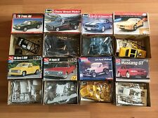 OLD 80S 90S 1:25 1:24 SCALE REVELL TESTORS AMT CHEVY STREET PICKUP  MODEL LOT
