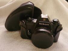 Vintage Nikon EM Camera