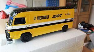 Otto Renault Sport Rallye Monte Carlo 1978 Saviem SB2 MKII OT332 #446 R5