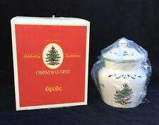 Spode Christmas Tree Open Pierced Potpourri Jar in Excellent Unused Condition