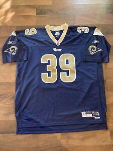 NFL Authentic Steven Jackson Rams Jersey! 3XL +2 Length Reebok