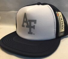 af2f7dc21da Ouray Air Force Trucker Hat Snapback Ball Cap White   Navy