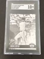 2018 PANINI DIAMOND KINGS SHOHEI OHTANI BLACK AND WHITE PARALLEL RC SGC 10 GEM