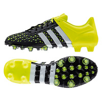 Adidas Ace 15.1 Fg/Ag Size 42 Football Grass / Artificial Turf Neon Rrp New