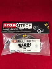 STOPTECH STAINLESS STEEL REAR BRAKE LINE 1999-200 HONDA CIVIC SI DISK  950.40500