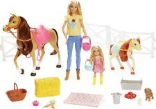 Mattel 57133481 BRB Reitspaß Barbie,Chelsea,Pferd & Pony FXH15