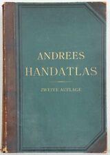 Andree's Allgemeiner Handatlas in 120 Kartenseiten nebst alphabetischem Namensve