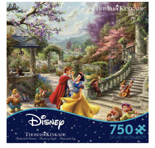 Thomas Kinkade Disney Snow White Dancing in the Sunlight 750 Piece Ceaco Puzzle