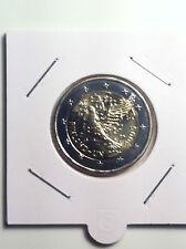 2 EURO FINLANDE 2005 ANNIVERSAIRE ONU COMMEMORATIVE NEUVE