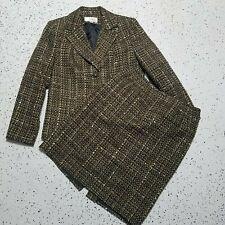 Le Suit Women's 2 Piece Blazer & Skirt Set ~ Sz 8P ~ Brown ~ Lined