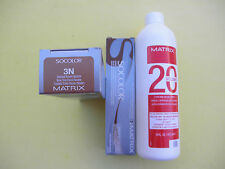 TWO 3N MATRIX SOCOLOR HAIRCOLOR PLUS ONE 16oz DEVELOPER NEW!