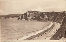 SEATON (Devon) : White Cliff & Bathing Beach