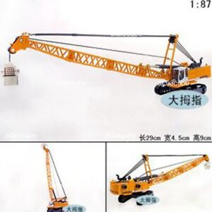 KDW 1/87 Machinery Crawler Tower Cable Excavator Diecast Model 1/87 Scale