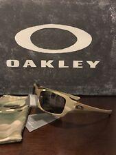 Oakley Fives Squared (4+1)2 Multicam Camo/Warm Grey 53-076 Sunglasses EUC