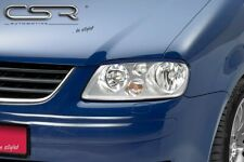 CSR Scheinwerferblenden für VW Touran 1T 03-06 Caddy 2K Böser Blick Blenden Set
