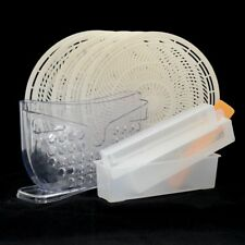 Combo - Rice Paper Roll Water Bowl - 5-pack Rice Paper Trays - 4pcs Sushi Maker
