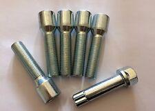 5 X Sintonizador M14X1.25 + llave 62 mm De Largo Rosca 38 mm Ruedas De Aleación Pernos se ajusta Mini lista