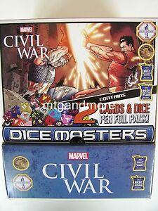 Marvel Dice Masters - Civil War Gravity Feed Display