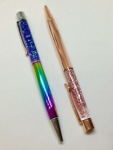 Luxury Liquid Glitter Shiny Ballpoint Pens